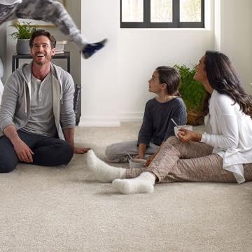 Family enjoying on Carpet | TUF Flooring LLC