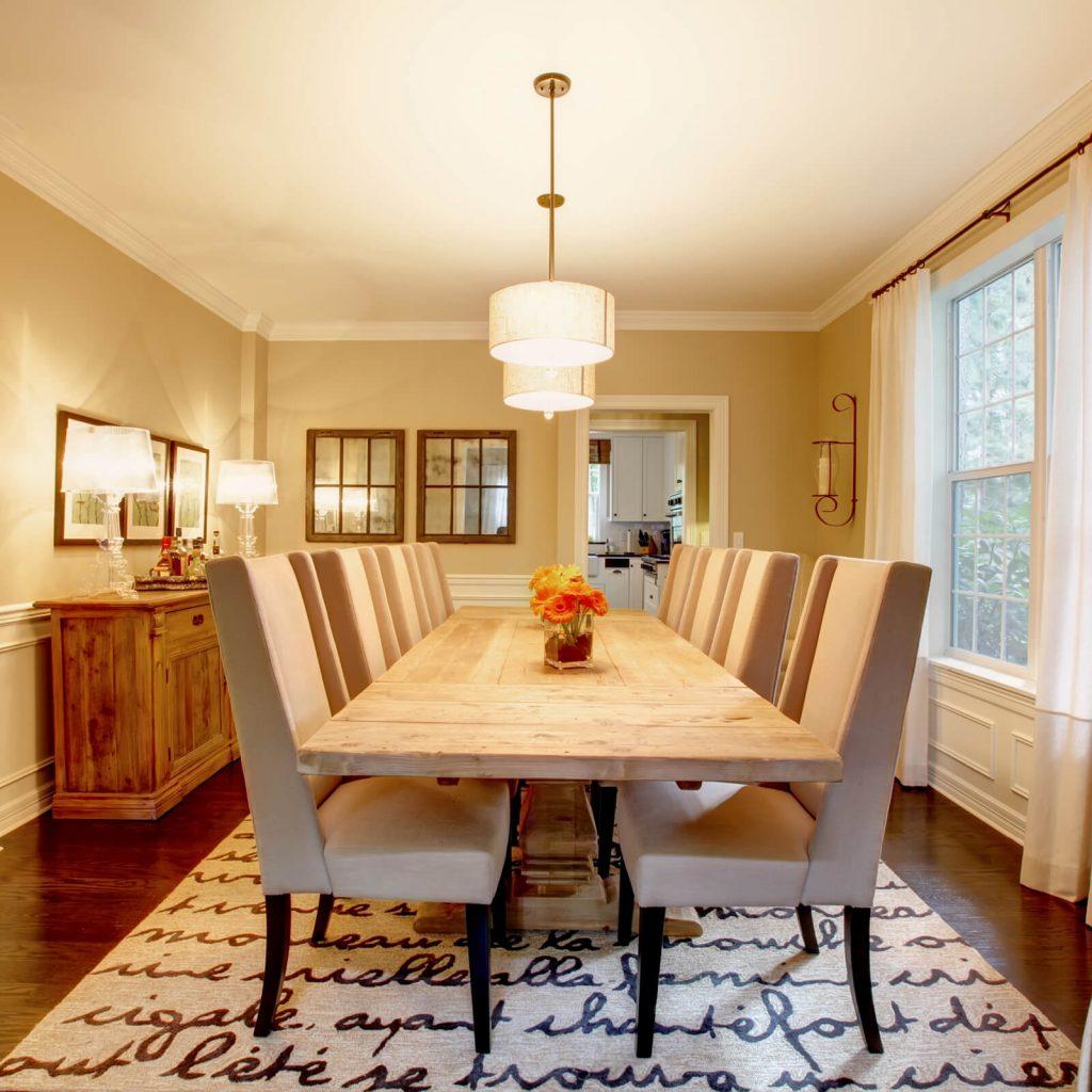 Dining room interior   TUF Flooring LLC