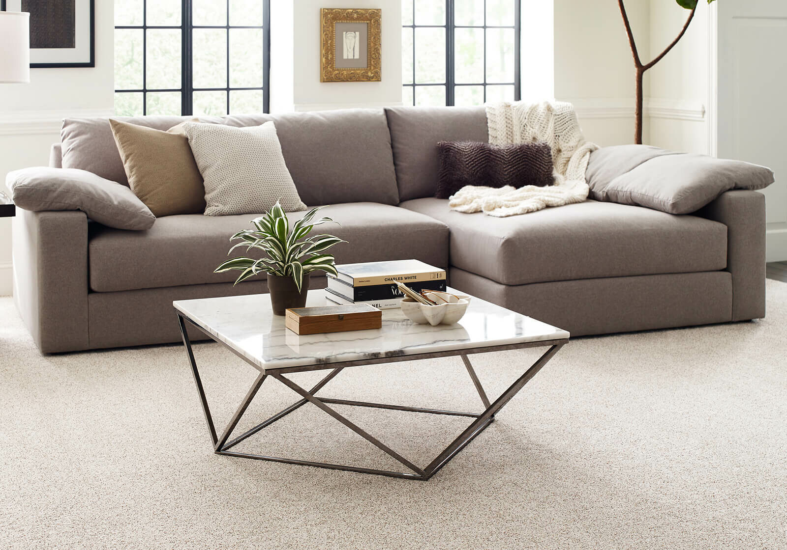 Living Room Carpet | TUF Flooring LLC