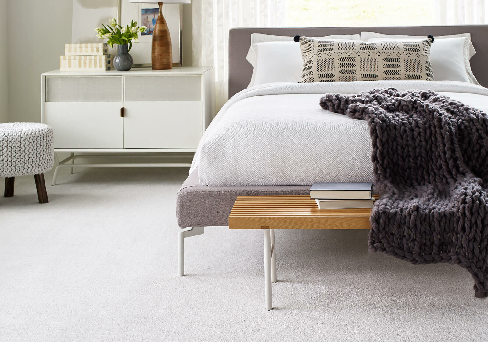 Bedroom Carpet | TUF Flooring LLC